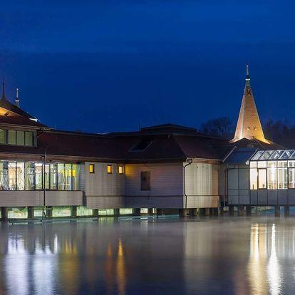 Ágnes Hotel***, Hévíz se snídaní wellness a vstupem do termálního jezera