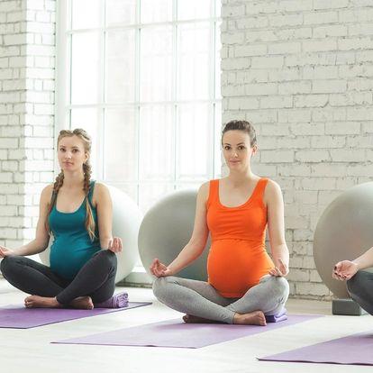 Jemná jóga nejen pro těhotné v úterý či neděli