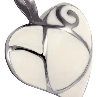 Srdce s perleťovým povrchem