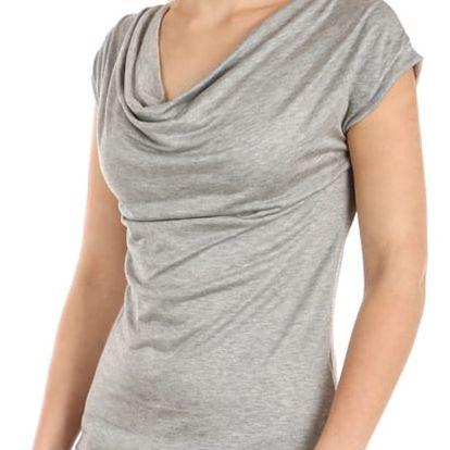 Dámské elegantní tričko světle šedá