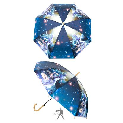 Deštník se zvěrokruhem - Znamení Váhy