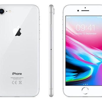 Mobilní telefon Apple 256 GB - Silver (MQ7D2CN/A)