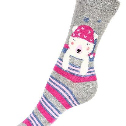 Vysoké ponožky se zvířátky