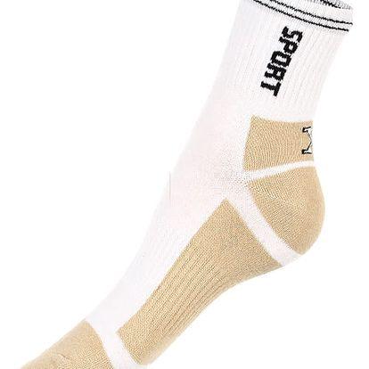Dámské sportovní ponožky bílá