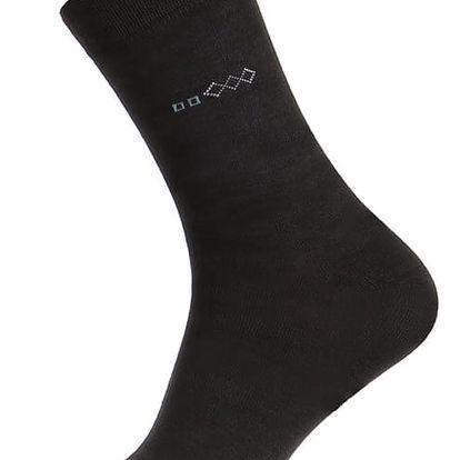 Bambusové pánské ponožky tmavě šedá