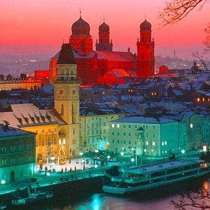 Výlet do bavorského Pasova na plavbu lodí a návštěvu trhů