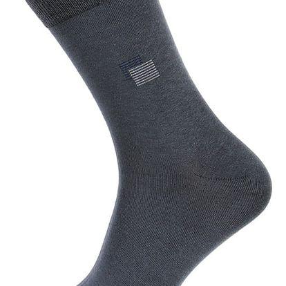 Pánské ponožky bavlněné tmavě modrá