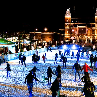 Kouzelný předvánoční advent v Amsterdamu