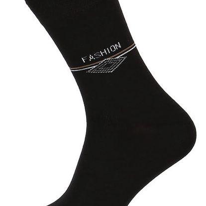 Pánské ponožky fashion černá