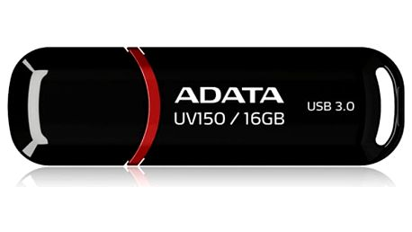 USB Flash ADATA UV150 16GB (AUV150-16G-RBK) černý USB 3.0