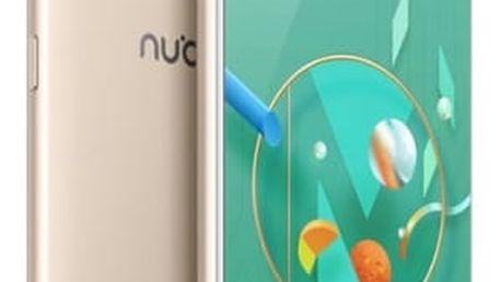 Mobilní telefon Nubia Z17 mini Dual SIM 4 GB + 64 GB (6902176901065) zlatý