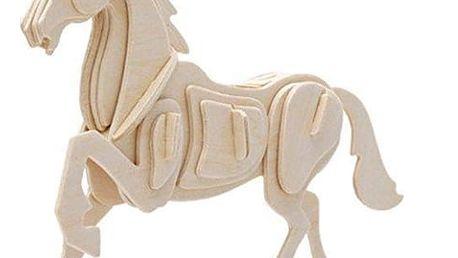 Dřevěné 3D Puzzle Zvířata na Statku Junior Knows