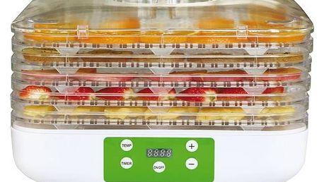 Sušička ovoce Guzzanti GZ 505 bílá + Doprava zdarma