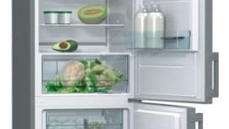 Kombinace chladničky s mrazničkou Gorenje Essential RK6192AX Inoxlook