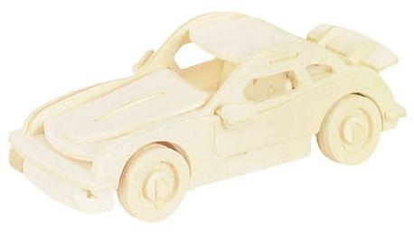 Dřevěné autíčko skládačka