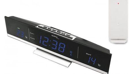 Digitální teploměr s budíkem s LED displejem TechnoLine WS6810B