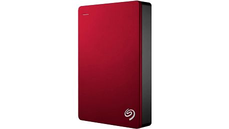 Seagate Backup Plus Portable 4TB, červená - STDR4000902