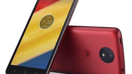 Mobilní telefon Motorola Moto C Plus Dual SIM (PA800118CZ) červený