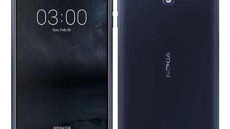 Mobilní telefon Nokia 3 Dual SIM (11NE1L01A13) modrý