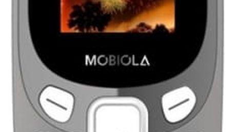 Mobilní telefon Mobiola MB3000 (MB3000CZG) šedý