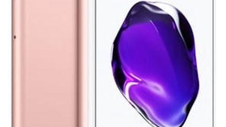 Mobilní telefon Apple Plus 128 GB - Rose Gold (MN4U2CN/A)