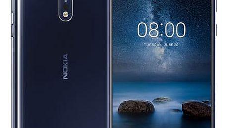 Mobilní telefon Nokia 8 Dual SIM (11NB1L01A12) modrý