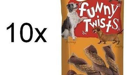 Pochoutka Frolic Funny Twists 10 x 140g