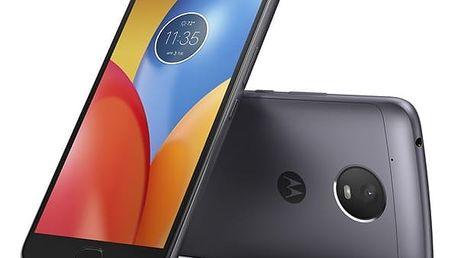 Mobilní telefon Motorola Moto E Plus Dual SIM (PA700010CZ) šedý