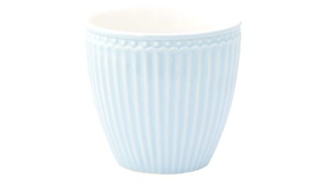 GREEN GATE Latte cup Alice pale blue, modrá barva, porcelán 300 ml