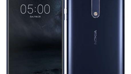 Mobilní telefon Nokia 5 Single SIM (11ND1L01A08) modrý