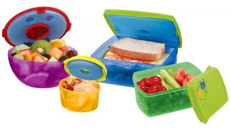 Sada plastových krabiček Čerstvé jídlo - VÝPRODEJ