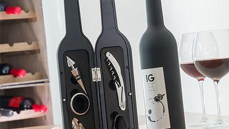 Souprava na Víno Láhev InnovaGoods Kitchen Sommelier 5 částí