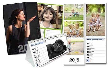 Originální kalendář z vašich fotek v různých provedeních a formátech