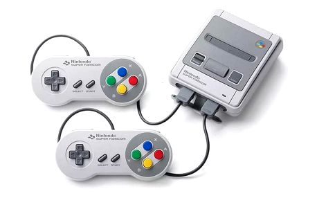 Herní konzole Nintendo Classic Mini: SNES