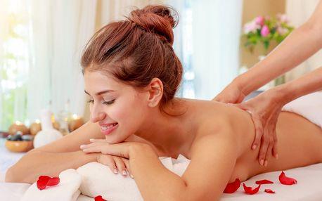 100 minut relaxace s masáží dle výběru