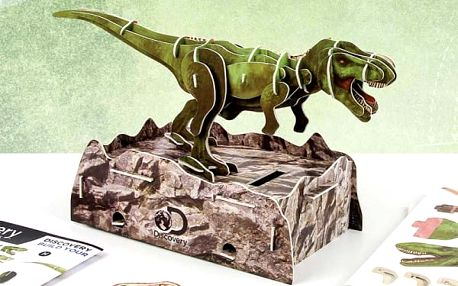 Postav si svou vlastní pokladničku Tyranosaurus