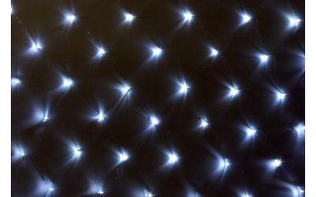 Síť 3 x 3 m - 128 LED - studená bílá - 18000122