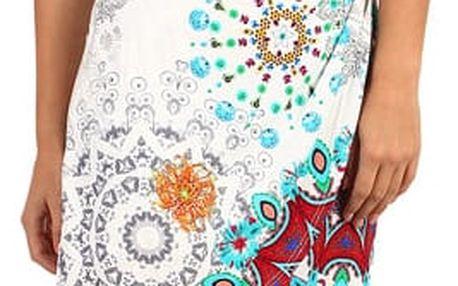 Pestrobarevné zavinovací šaty - i pro plnoštíhlé