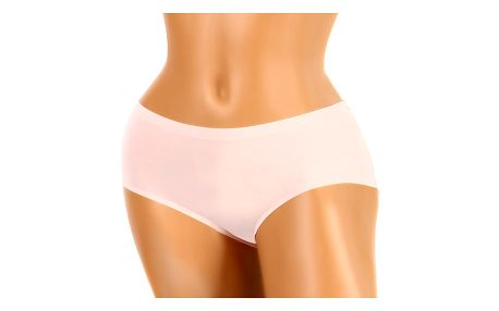 Jednobarevné kalhotky invisible růžová