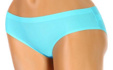 Dámské kalhotky z mikrovlákna - klasický střih modrá