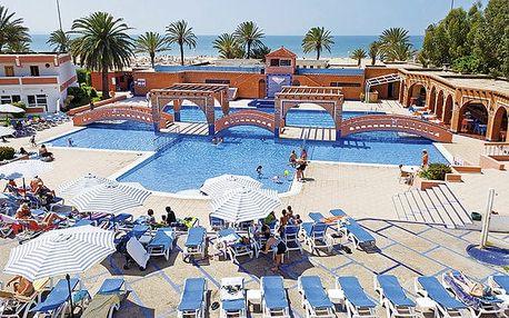 Hotel Club Almoggar, Agadir, Maroko, letecky, polopenze