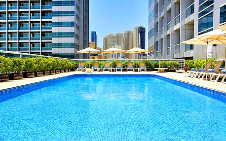 Hotel Armada Bluebay, Dubaj, Spojené arabské emiráty, letecky, snídaně v ceně