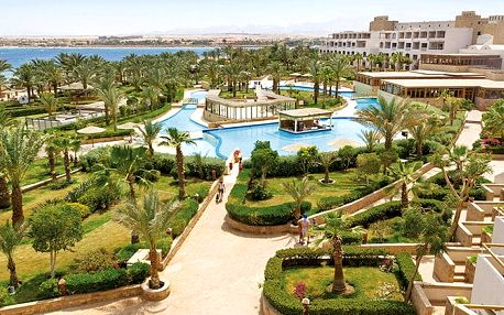 Hotel Fort Arabesque Resort, Hurghada, Egypt, letecky, all inclusive