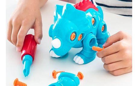 Dětská Skládanka Triceratops