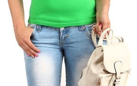 Tričko s krajkovými rukávy tmavě zelená