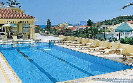 Hotel Golden Sun, Kréta - Chania, Řecko, letecky, snídaně v ceně