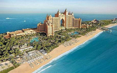 Hotel Atlantis The Palm, Dubaj, Spojené arabské emiráty, letecky, snídaně v ceně