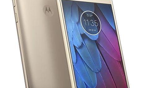 Mobilní telefon Motorola Moto G5s Dual SIM (PA7W0014CZ) zlatý