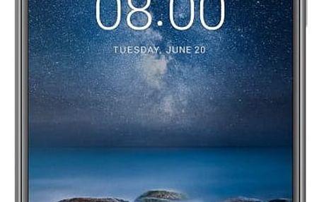 Smartphone Nokia 8, dual SIM, Steel 11NB1S01A06