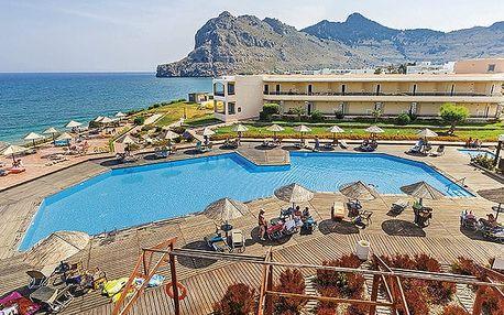 Hotel Lutania Beach, Rhodos, Řecko, letecky, all inclusive